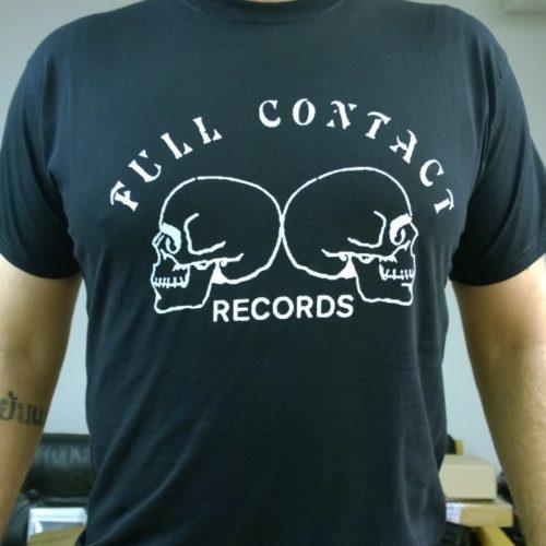 df939321c Full Contact Records 'Skulls' T-Shirt (Size S, Black)